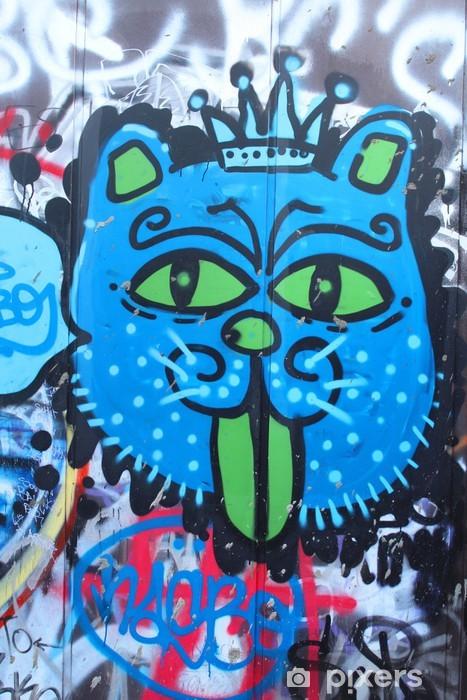 895bf8fabce81 Papier peint Street art - Le roi lion • Pixers® - Nous vivons pour ...