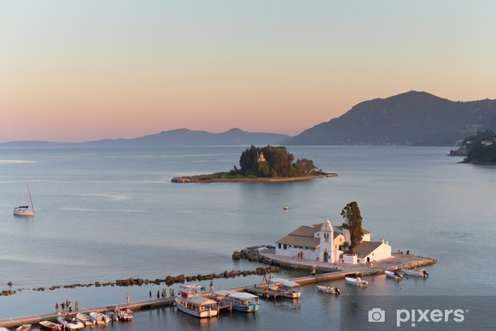 Papier peint vinyle Griechische inseln - Vacances
