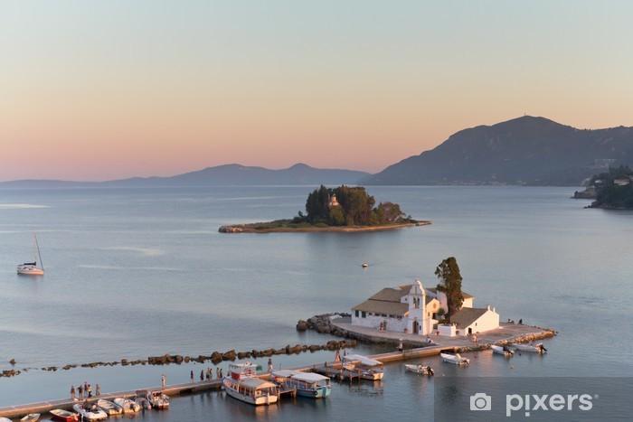 Sticker Pixerstick Griechische inseln - Vacances