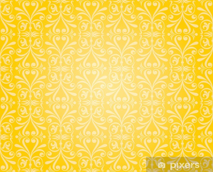 Orange Amp Yellow Wallpaper Background Design Wall Mural