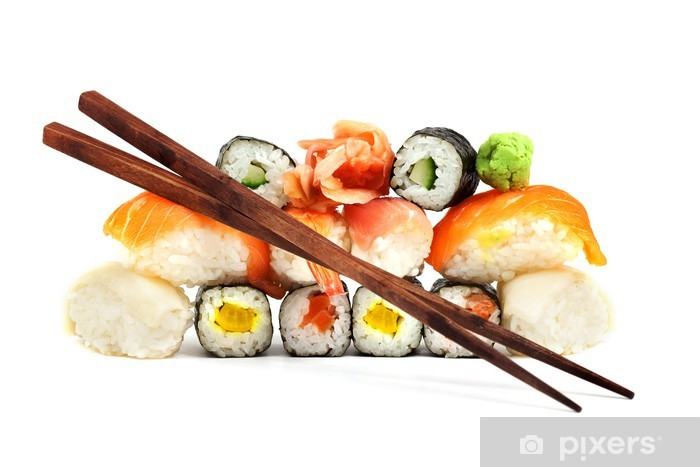 Papier peint vinyle Sushis - Sushi