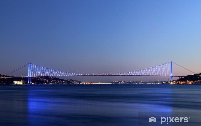 Nálepka Pixerstick Bospor most, Istanbul, Turecko - Střední Východ