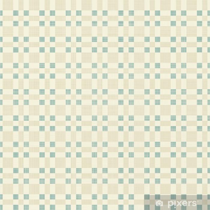 Papier Peint Geometrique Seamless Dans Le Retro Bleu Et Gris