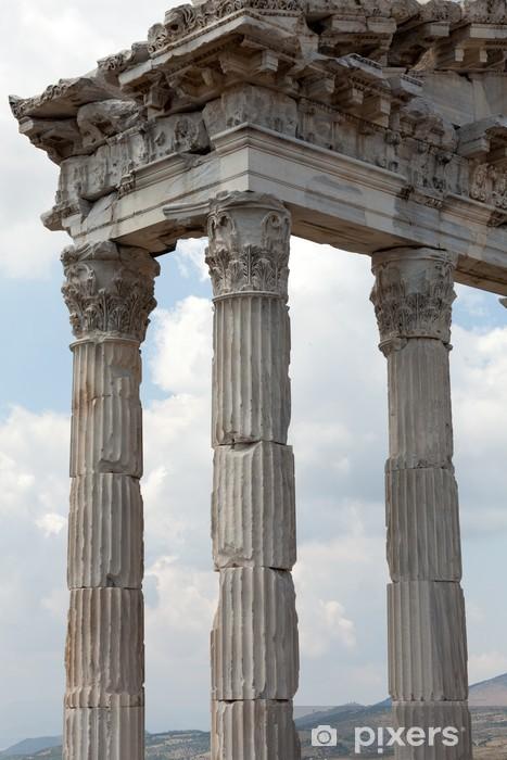 Fotomural Estándar Templo de Trajano en la Acrópolis de Pérgamo - Temas