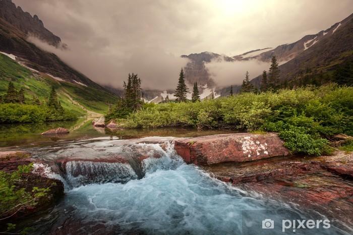 Fotomural Estándar Glacier Park - Naturaleza y zonas salvajes