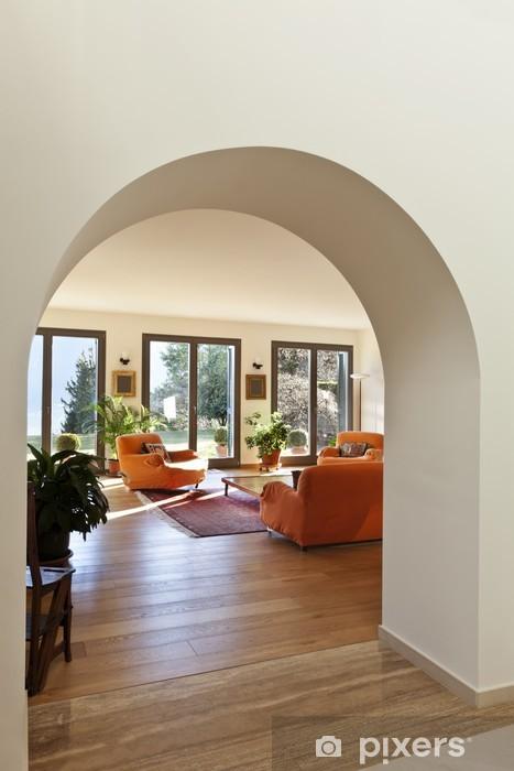 Fototapete Schöne Wohnung, Innen-, Wohnzimmer