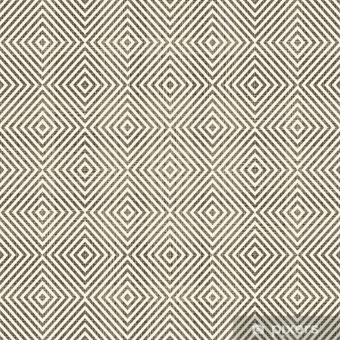 Vinyl Fotobehang Abstracte geometrische retro naadloze achtergrond - Achtergrond