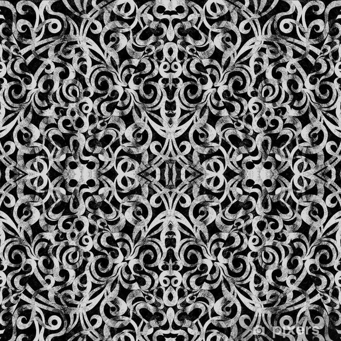 Papier peint vinyle Style de tissu de fond indien - Asie