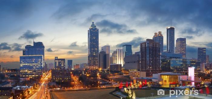 City of Atlanta. Pixerstick Sticker - America