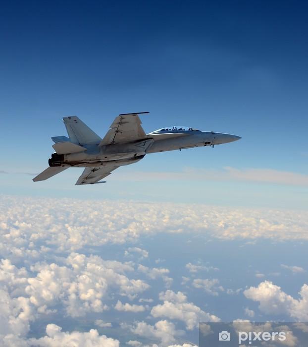 Jetfighter lennossa Pixerstick tarra -
