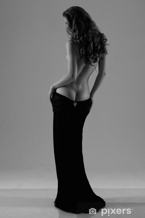 Fotomural Estándar Silueta de una mujer - Temas