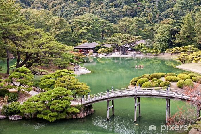 Naklejka Pixerstick Ogród Japoński w Takamatsu - Azja