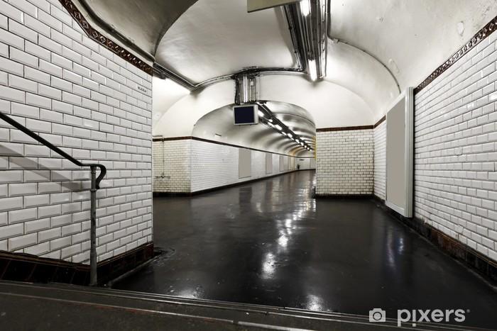 Fototapeta winylowa Wnętrze, paris metro - Inne