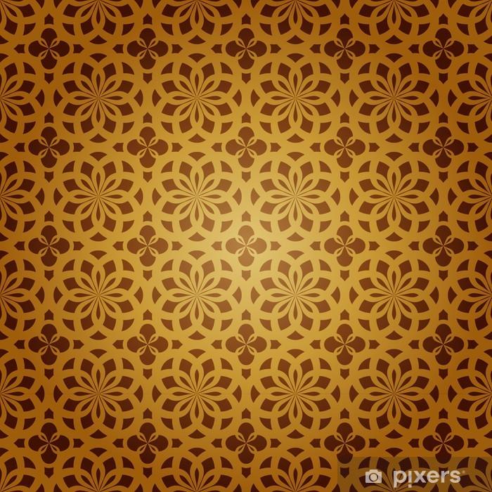 Poster Seamless pattern geometrico Arte Islamica - Arte e Creazione