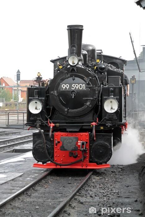 Fototapeta winylowa Parowóz kolei wąskotorowych na Harz - Tematy