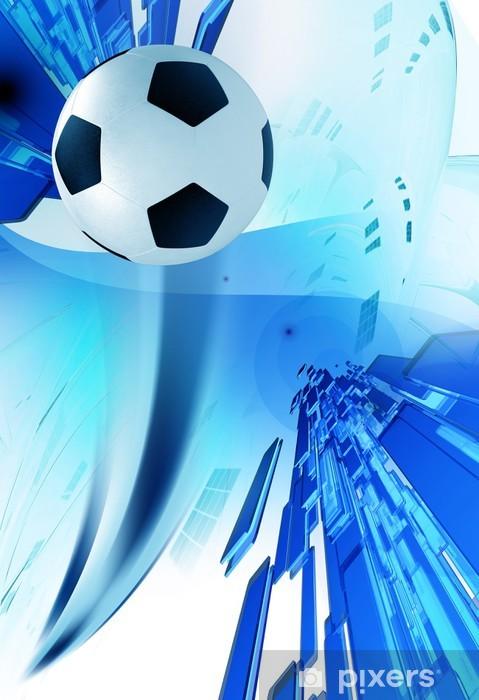 Carta Da Parati Calcio Sfondo Blu Pixers Viviamo Per Il Cambiamento