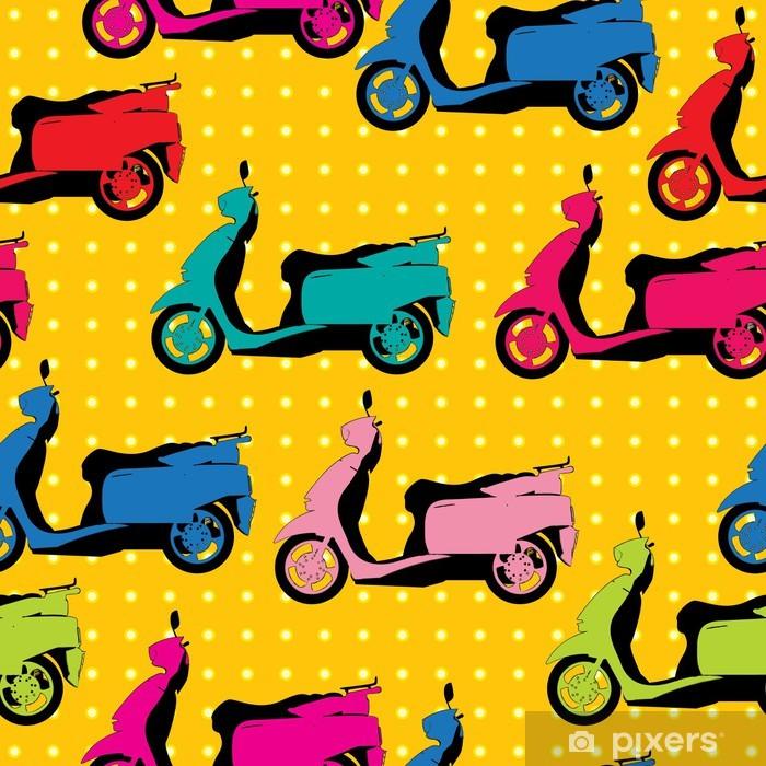 Poster Modèle de scooter de style bande dessinée - Ethique