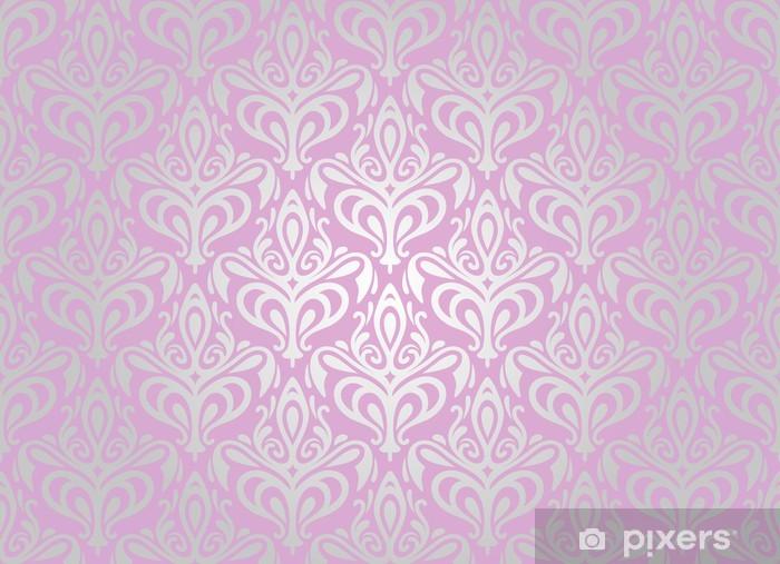 Carta Da Parati Damascata Rosa : Carta da parati rosa e argento pallido sfondo per il desktop