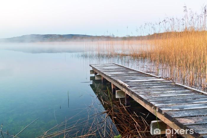 Fototapeta winylowa Irlandzki jezioro przed wschodem słońca - Tematy