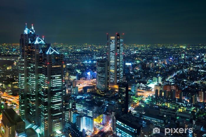 Vinilo Pixerstick Tokio por noche - Temas