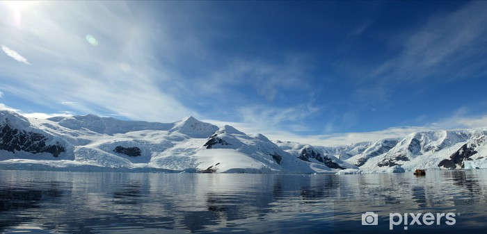 Die Antarktis Pixerstick Sticker - The North and South Poles