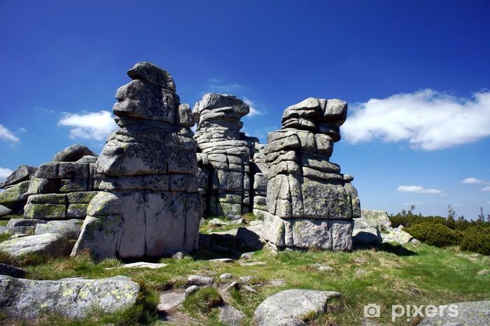 Fotomural Estándar Rocas en los Montes de los Gigantes - Vacaciones