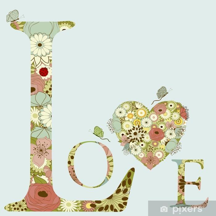 Plakat Happy valentine - Szczęście