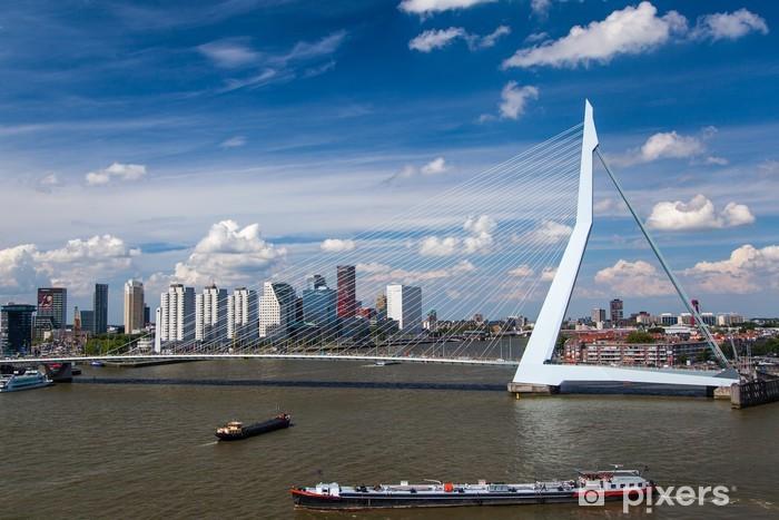 Vinilo Pixerstick Puente de Erasmus en Rotterdam - Temas