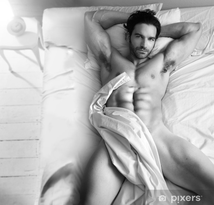 For men in bed nude something is