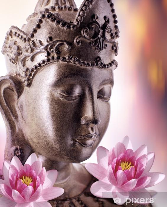 Pixerstick Sticker Boeddhisme en welzijn - Boeddhisme