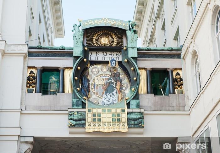 Naklejka Pixerstick Zegar astronomiczny - Miasta europejskie
