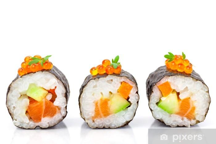 Naklejka Pixerstick Maki sushi - Tematy