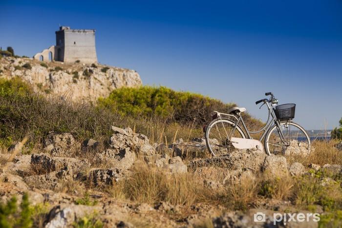 Papier peint vinyle Voyage à Vélo - Vacances