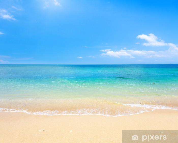 Fotomural Estándar Playa y mar tropical - Playa y las zonas tropicales