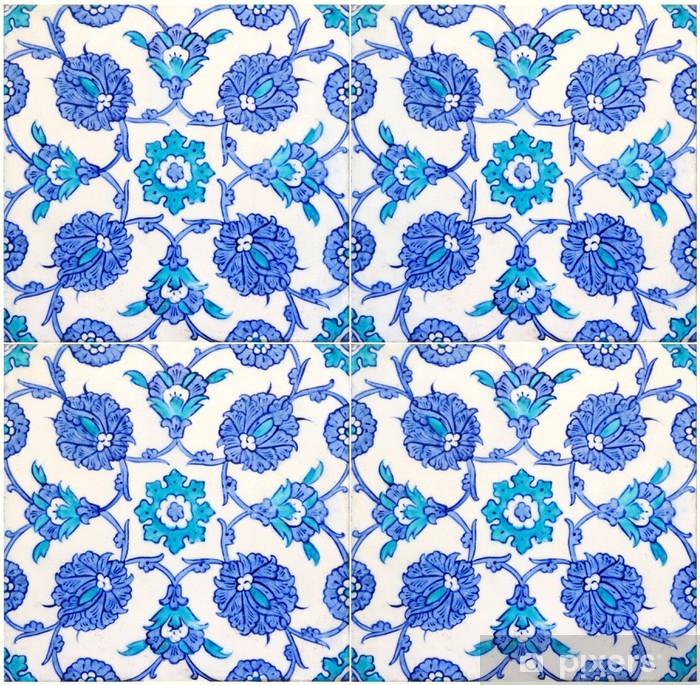 Papier peint vinyle Carrelages turques - Carreaux