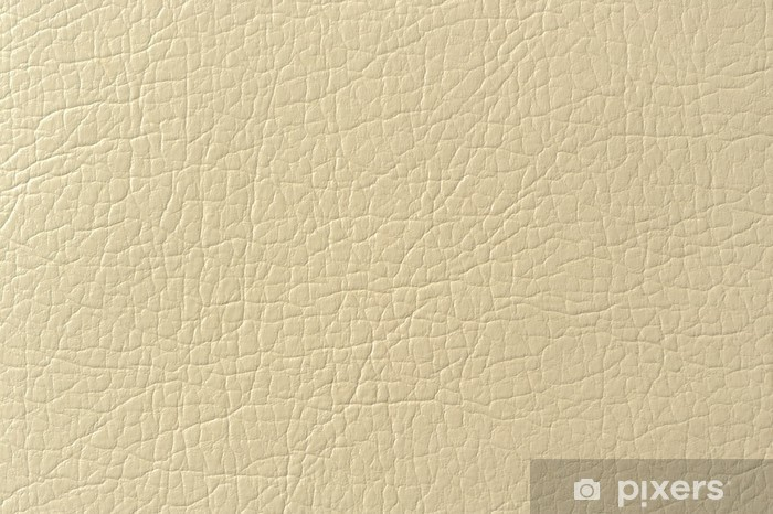 Beige Faux Leather Background Texture Wall Mural Pixers