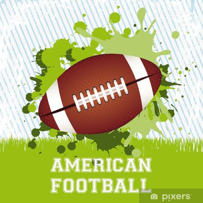 Sticker Pixerstick American football - Football Américain