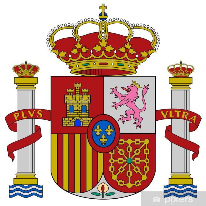 Sticker Pixerstick Espagne armoiries - Villes européennes