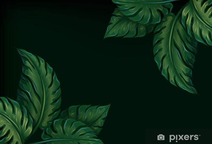 Pixerstick Sticker Acht bladeren - Thema's