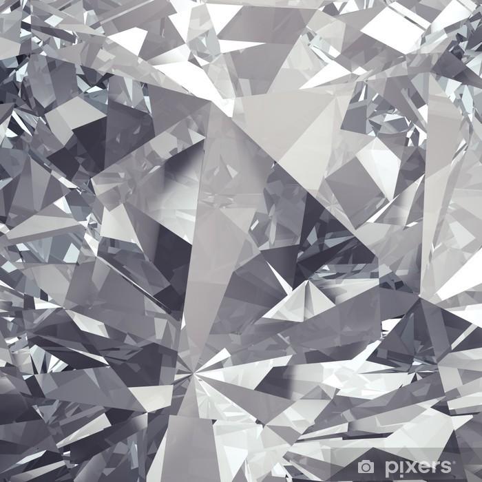 Pixerstick Sticker Kristal facet achtergrond - Bestemmingen