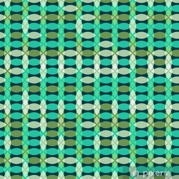 Poster Retro nahtlose geometrische Muster - Vorlagen