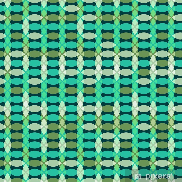 Retro seamless geometric pattern Poster - Abstract