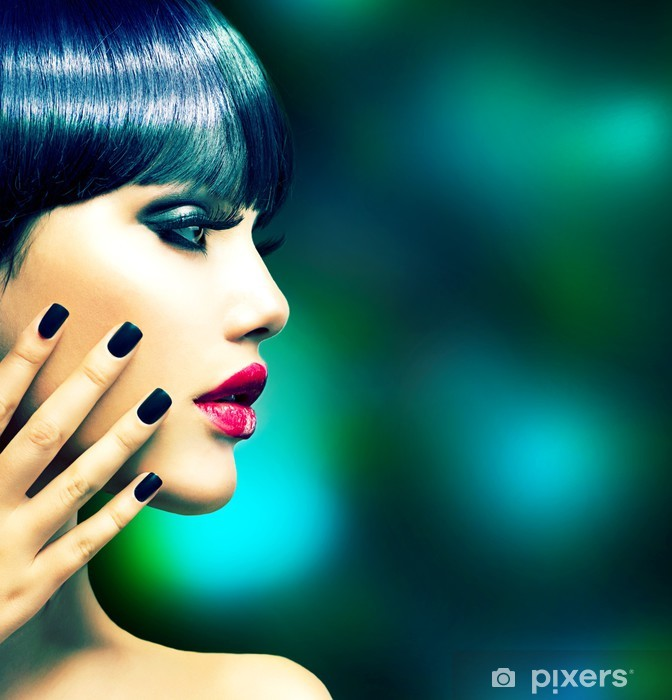 Fototapeta winylowa Kobieta Portret Fashion Profile. Model Style Vogue - Kobiety