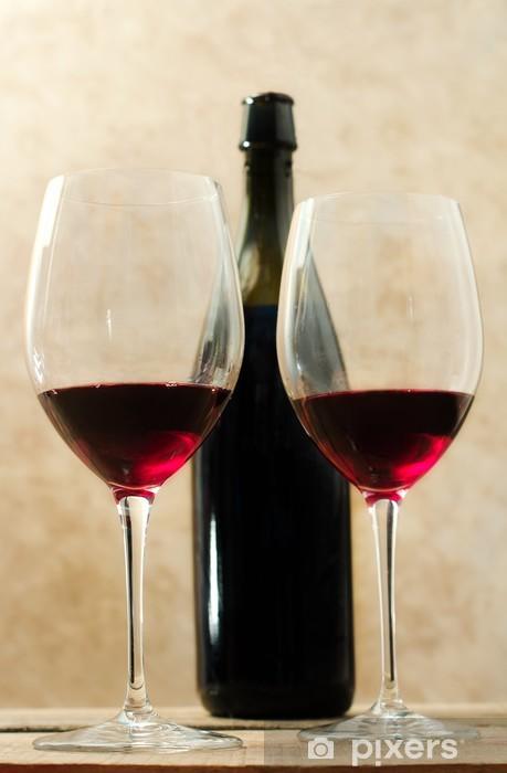 42865fcc885a8 Sticker pour ordinateur portable Verres à vin rouge • Pixers® - Nous ...