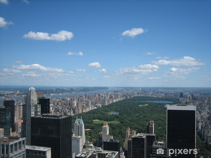 Pixerstick-klistremerke Central Park - Amerikanske byer
