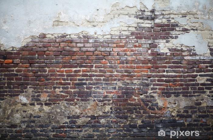 Fototapet av Vinyl Старая стена - Teman