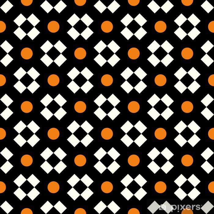 Seamless geometric pattern Vinyl Wall Mural - Backgrounds