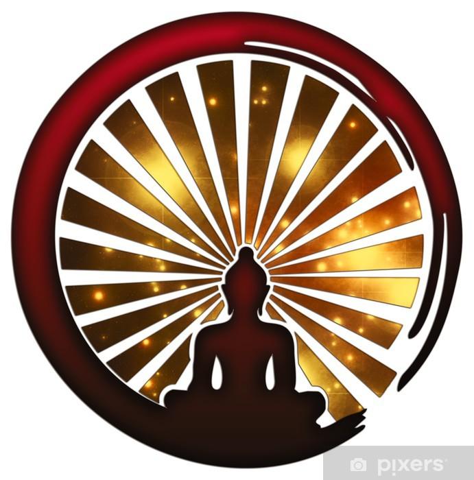 Papier Peint Zen Meditation Symbole D Enso Bouddha Japon