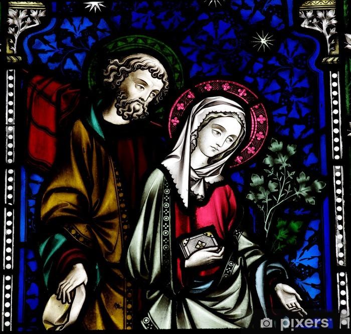 Sticker Pixerstick Joseph et Marie - Thèmes