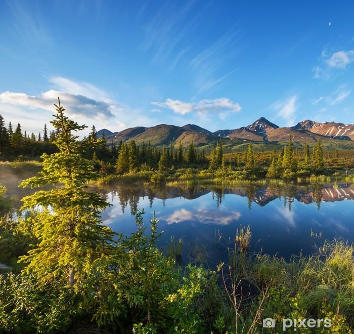 Nálepka Pixerstick Lake na Aljašce - Témata